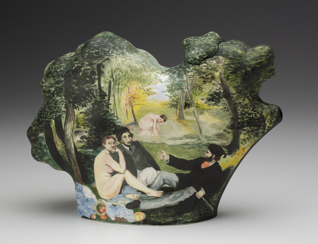 , 'Picnic | After Manet and Giorgione (Teapot),' 2014, Ferrin Contemporary