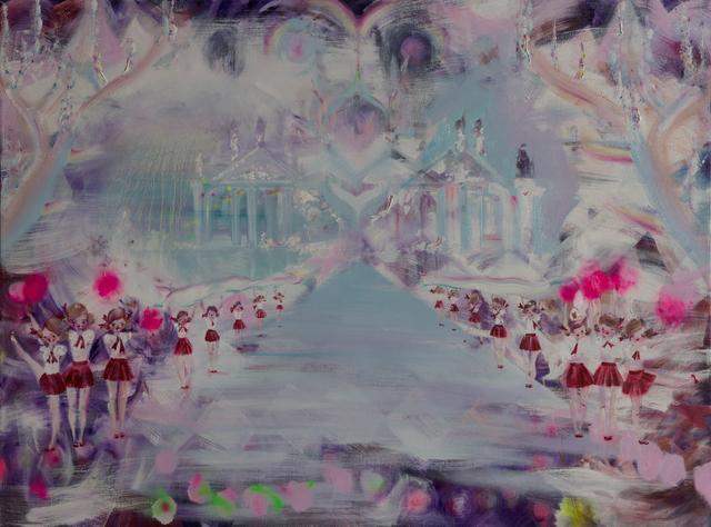 , 'Cottonfield Girls,' 2017, Himmelblau Printmaking Finland