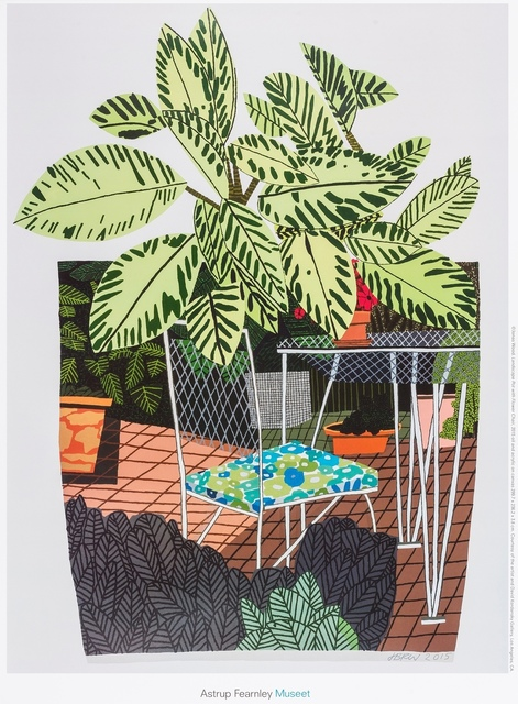 After Jonas Wood, 'A Poster for Landscape Pot With Flower Chair', 2016, Forum Auctions