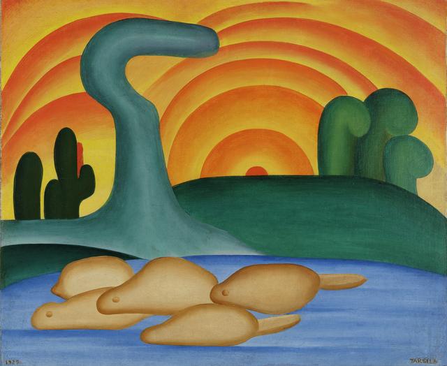 , 'Setting Sun (Sol poente),' 1929, The Museum of Modern Art