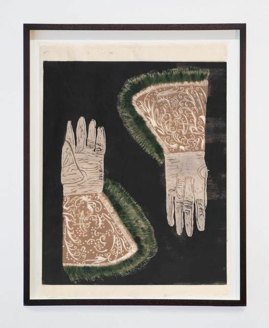 , 'Gauntlets,' 2015, Stephen Friedman Gallery
