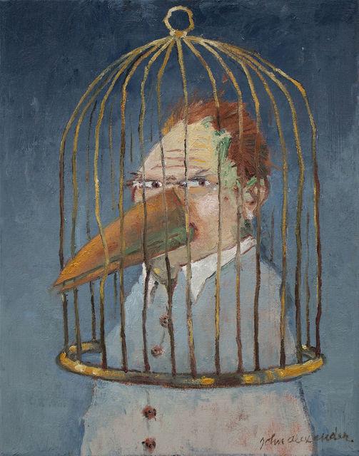 , 'Bird Brain,' 2018, Arthur Roger Gallery