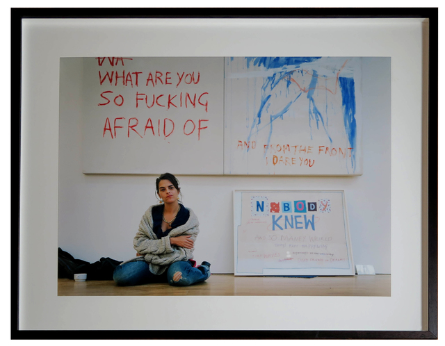 Tracey Emin, 'Tracey Emin. November 7, 2002 by Jason Schmidt', 2002, Alternate Projects