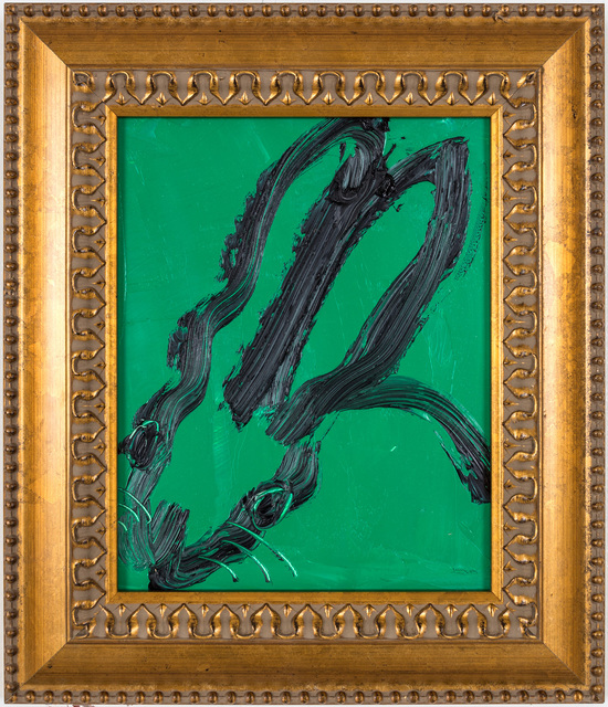 , 'Untitled (black and green),' , Gilman Contemporary
