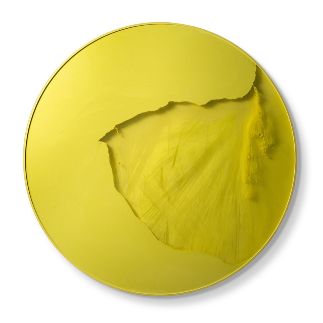 , 'Cercle jaune cadmium,' 2014, Espace Meyer Zafra