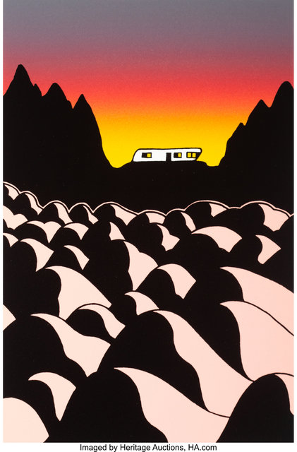 Ken Price, 'Living with Rocks', 2008, Print, Lithograph with screenprint in colors on wove paper, Heritage Auctions