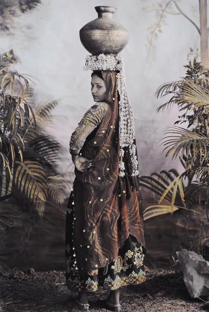 , 'Chandra with a Shell Headress,' 2007, Tasveer