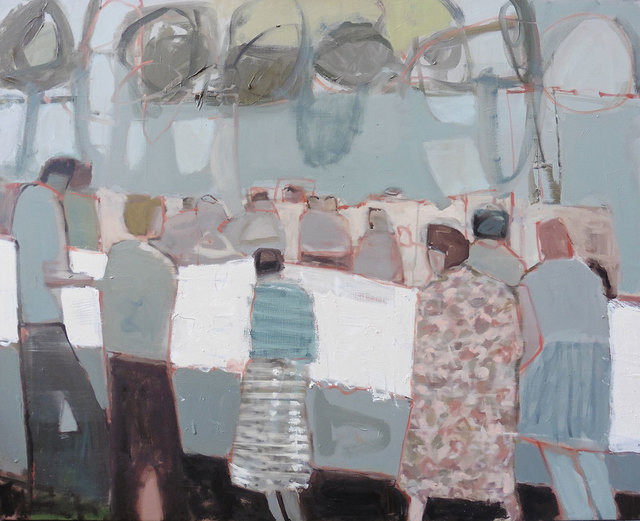 , 'Fete,' 2019, Hicks Gallery