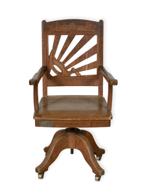 , 'Office chair,' 1937, Heritage Gallery