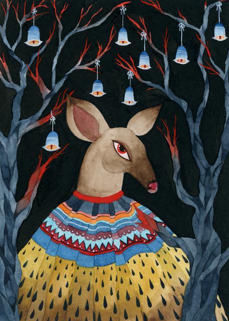, 'Deer,' , Fe Gallery