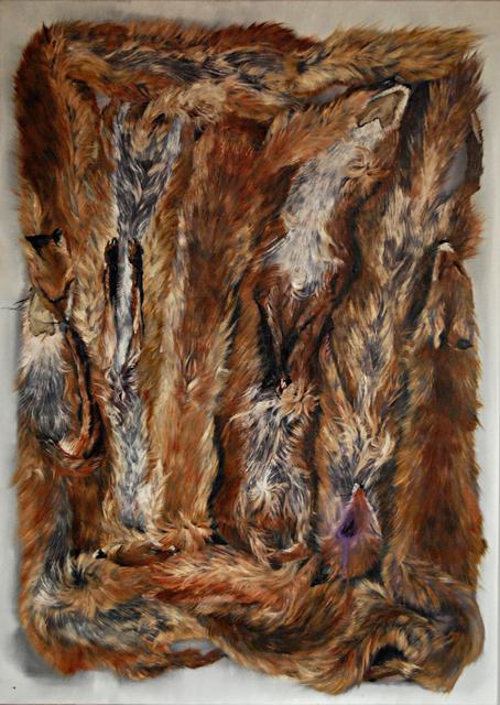 , 'Kurtain,' 2012, Galerie Sandhofer