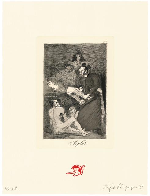 Enrique Chagoya, 'Sopla / Gust the wind', 2015, Universal Limited Art Editions