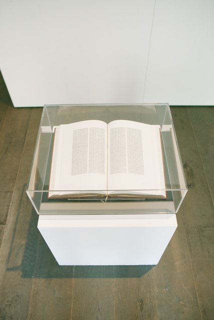 , 'Digitized Bible,' 2013-2014, Gallery 21