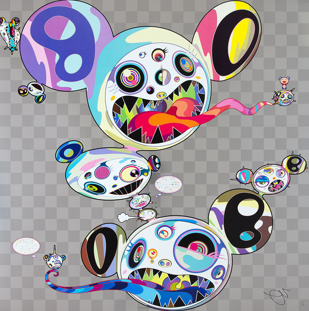 Takashi Murakami, 'Parallel Universe', 2016, Lougher Contemporary