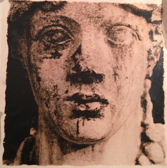 "Deborah Turbeville, 'Head of Statue, from ""Unseen Versailles""', 1982, Staley-Wise Gallery"