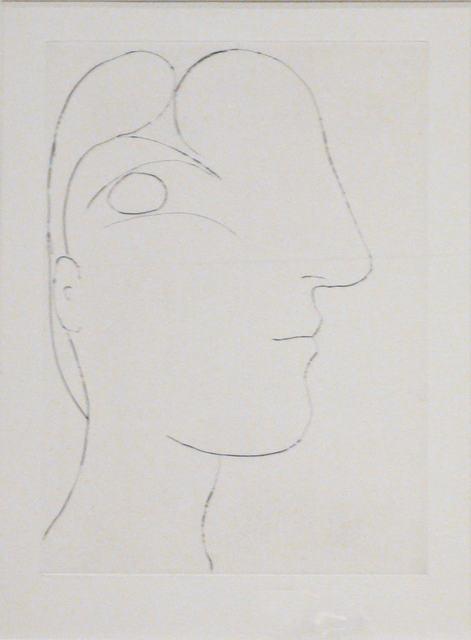 , 'Sculptural Profile of Marie Thérèse,' 1933, Les Yeux du Monde Gallery
