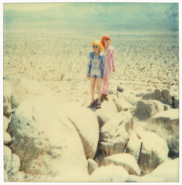 Stefanie Schneider, 'On the Rocks (Long Way Home)', 1999, Photography, Analog C-Print based on a Polaroid,  hand-printed by the artist on Fuji Crystal Archive Paper,  mounted on Aluminum with matte UV-Protection, Instantdreams