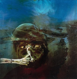Sidney Nolan, 'Miner Smoking from The Miner Series,' 1973, Forum Auctions: Editions and Works on Paper (March 2017)