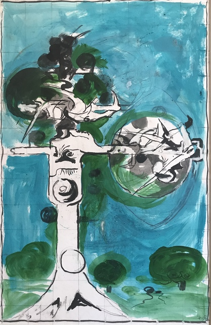 , 'Thorn Tree,' 1978, Christopher Kingzett Fine Art
