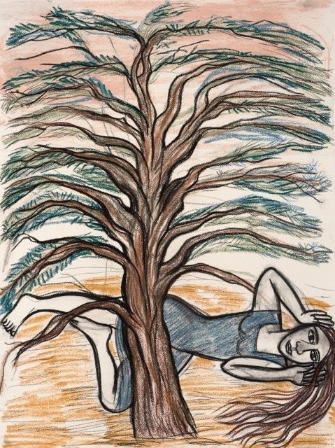 , 'Shivering Cedar,' , Letitia Gallery