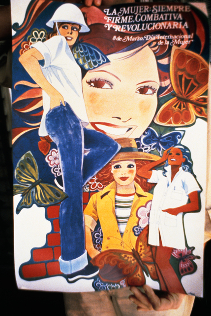 , 'Poster Celebrating Women, Havana Graphic Workshop,' 1981, Mitchell-Innes & Nash