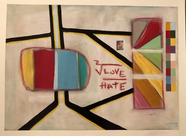 , 'Love Hate,' 2019, Imlay Gallery