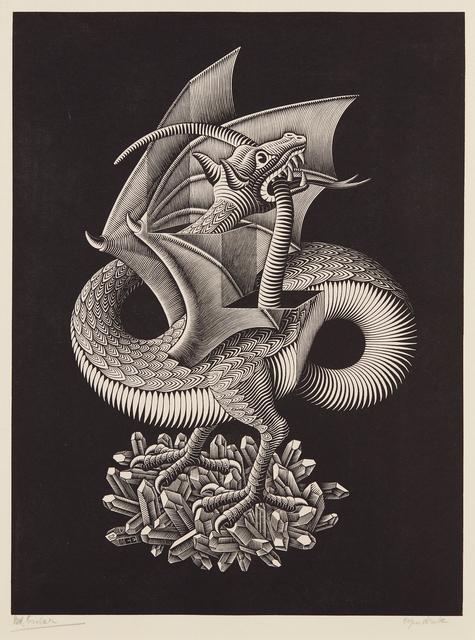Maurits Cornelis Escher, 'Dragon', 1952, Phillips