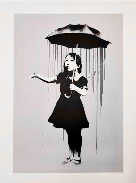 Banksy, 'Banksy, Nola (Grey)', 2006, Oliver Cole Gallery