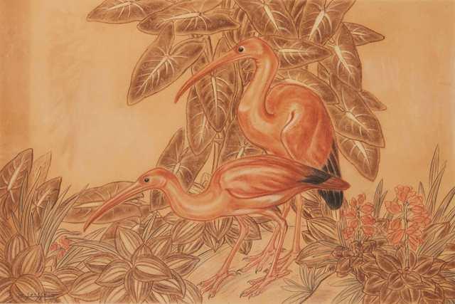 , 'Pink Ibis,' 1931, Galerie Dumonteil