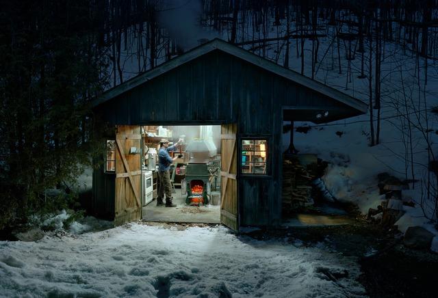 , 'Sugar Shack, Caledon, Ontario,' 2009, CHOI&LAGER