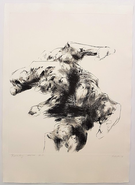 , 'Figure-mountain,' 1967, Cerbera Gallery