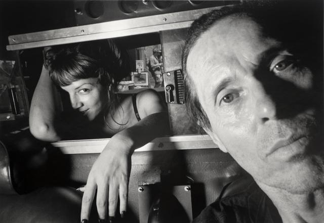Ryan Weideman, 'Self-Portrait with Coy Female', 1997, Bruce Silverstein Gallery