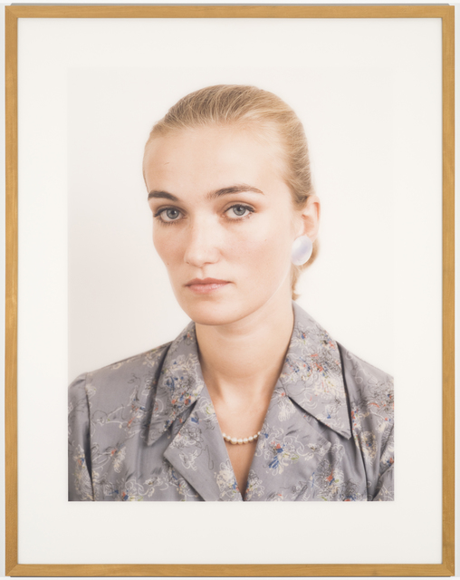 , 'Porträt (A. Wagner),' 1985, MCA Chicago
