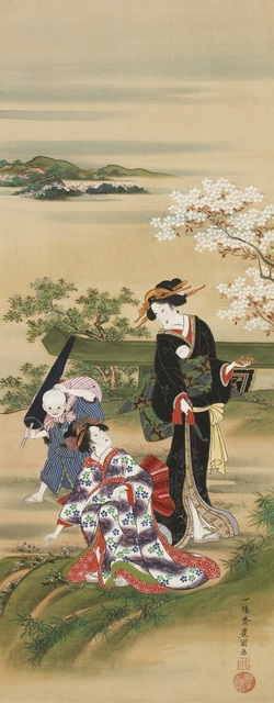 , 'Herb Gatherers at Mimeguri,' ca. 1816, Sebastian Izzard LLC Asian Art