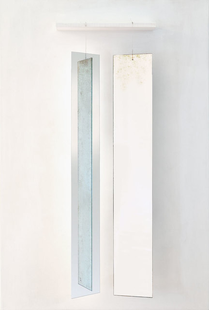 , 'Mobile with 2 suspended rectangles,' 1966, Galerie Denise René