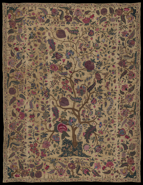 , 'Bedspread,' 1700-1750, Museum of Fine Arts, Boston