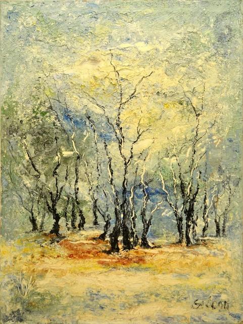 , 'Snowy Trees,' , Venvi Art Gallery