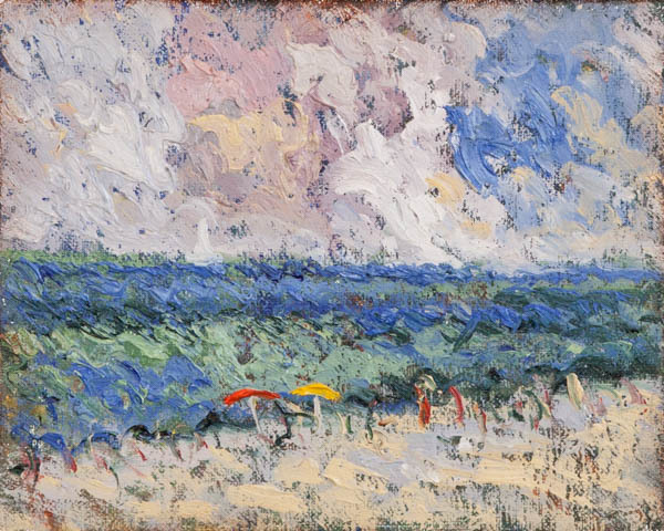 , 'The Sea Florida, Study,' 2018, Galerie d'Orsay
