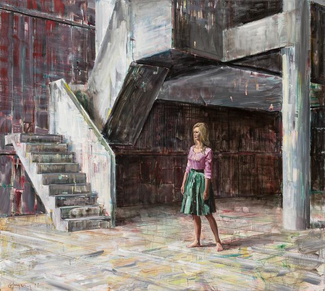Dénesh Ghyczy, 'Concrete Steps', 2018, Faur Zsofi Gallery