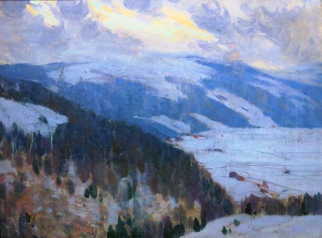 , 'Vue de la vallée du Gouffre, Charlevoix ,' 1915, Galerie Claude Lafitte