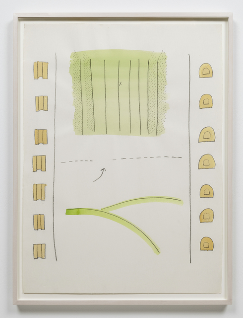 , 'Untitled (Game Drawing),' 1972-1973, Alexander and Bonin