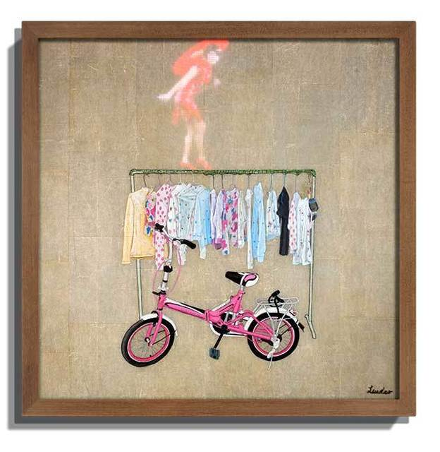 Liu Dao, 'Speak on about the Spokes, 2015', 2015, Painting, LED display, acrylic painting, paper collage, Eternity Gallery