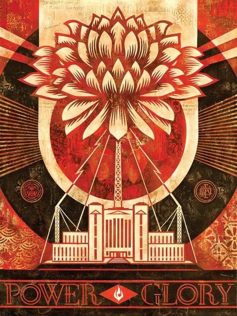 Shepard Fairey, 'Green Power, Version 1', 2014, Samuel Owen Gallery
