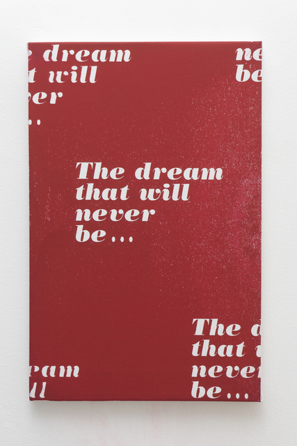, 'Dream That will Never Be…,' 2017, Rubber Factory