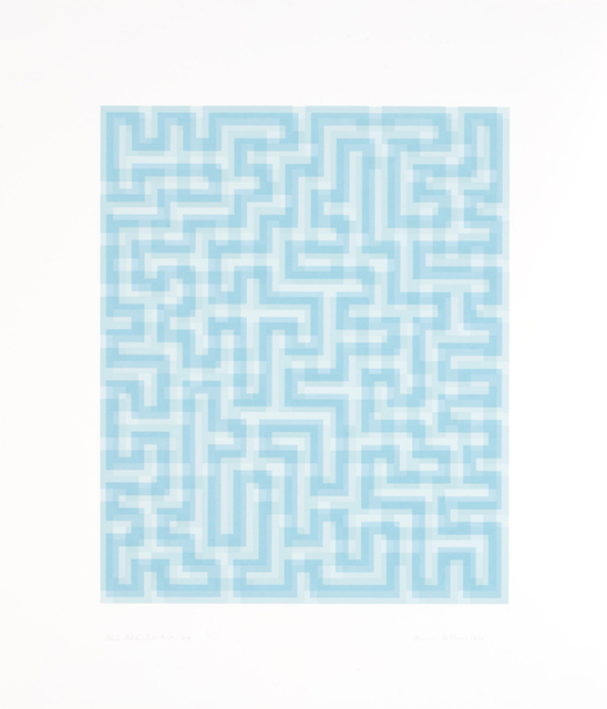 , 'Blue Meander,' 1970, Alan Cristea Gallery