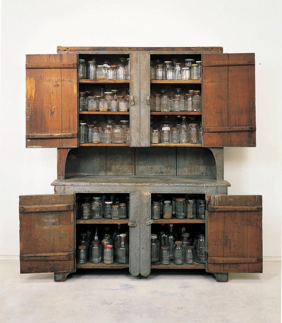 "Kate Ericson and Mel Ziegler, '""Grandma's Cupboard"" ', Perrotin"