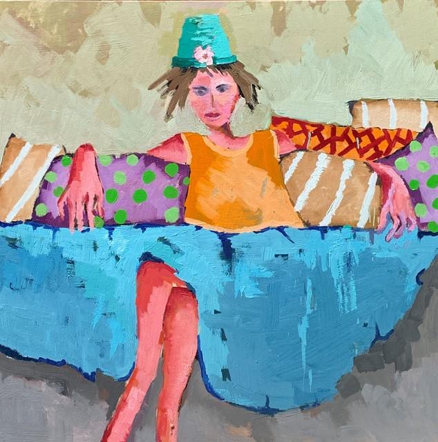 , 'Blue Skirt,' 2019, Shain Gallery