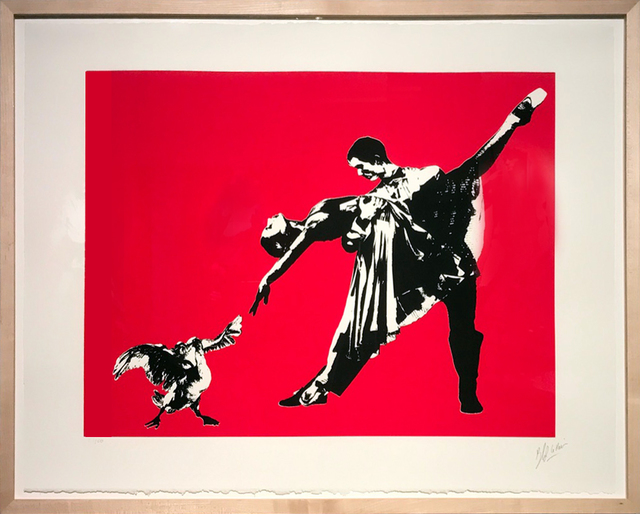 , 'Last Tango in Paris (screenprint),' 2016, Galerie Kronsbein