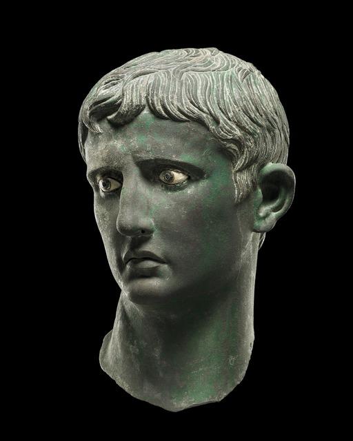 , 'The Meroë Head of Augustus,' c. 27 BC -25 BC, British Museum