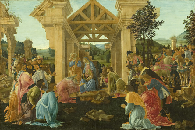 Sandro Botticelli, 'The Adoration of the Magi', ca. 1478-1482, National Gallery of Art, Washington, D.C.